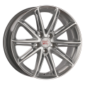 1000 Miglia MM1007 7,5x17 5x108 ET40 63,4 Silver Gloss Polished